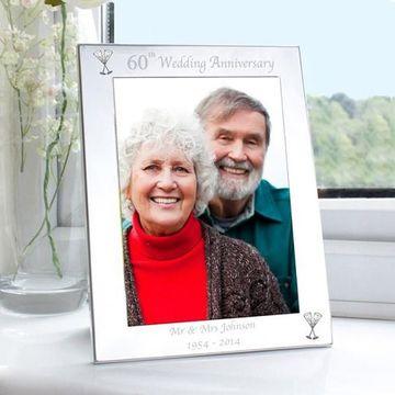 marcos para fotos de aniversario de boda 60 años