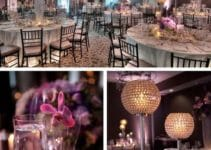 Elegantes adornos de salon para boda de distintos estilos