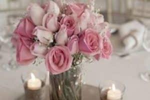 No te pierdas estos bellos arreglos de mesa para matrimonio