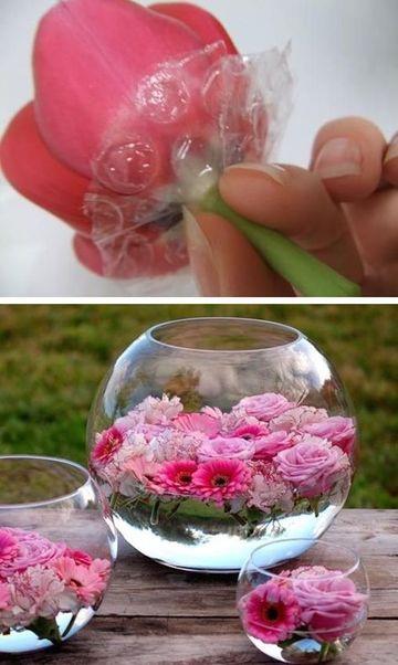 arreglos florales para boda economicos y faciles