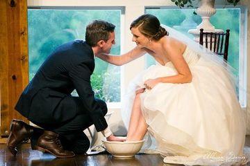 como es una boda cristiana sencilla