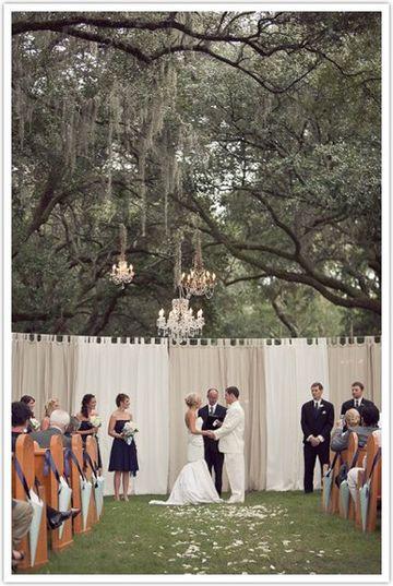 como organizar una boda religiosa al aire libre