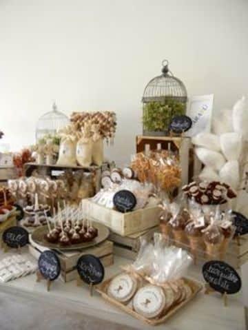ideas para decorar mesa de dulces en casa