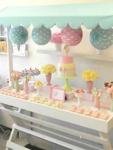 ideas para decorar mesa de dulces tierna
