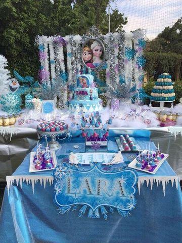 imagenes de frozen para cumpleaños al aire libre