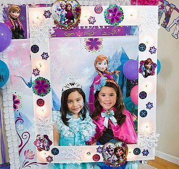 imagenes de frozen para cumpleaños para porta retrato