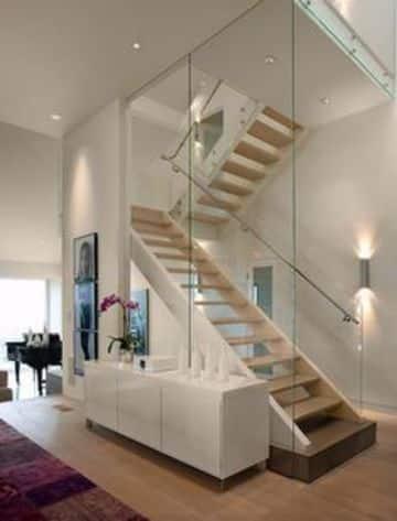 luces para casas modernas de dos pisos