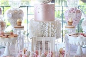 Magníficas ideas de mesas de dulces para bodas elegantes