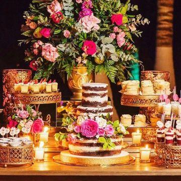 mesas de dulces para bodas elegantes y rusticas