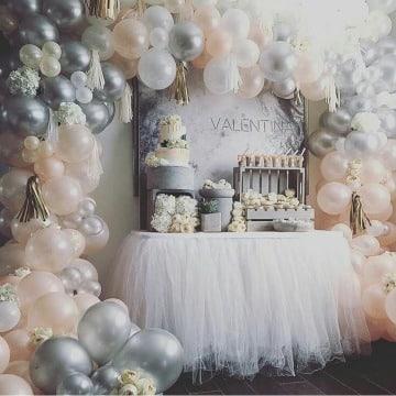 adornos con globos para fiestas decoracion