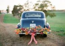 No te pierdas estos hermosos arreglos de carro para boda