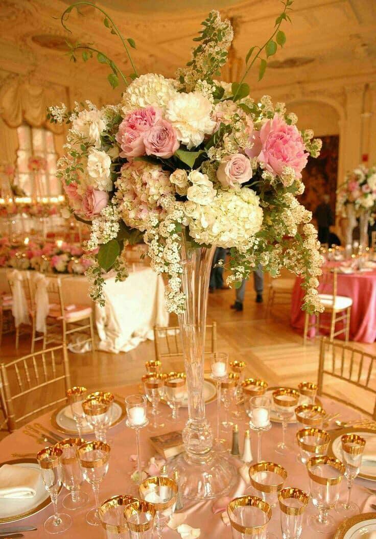 arreglos de centros de mesa naturales para boda