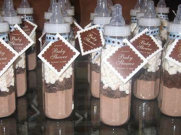 botellas decoradas para baby shower con mamila