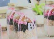 Botellas decoradas para baby shower para dulces y recuerdos
