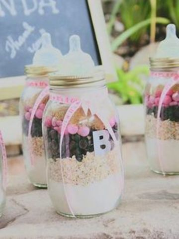 botellas decoradas para baby shower tipo biberon
