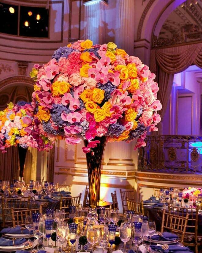 centros de mesa naturales para boda elegantes