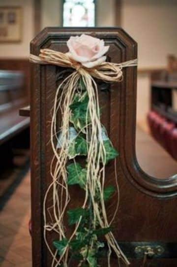 como hacer arreglos florales para iglesias economicos