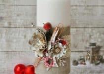 Como hacer velas navideñas para dar luz tenue a tu casa
