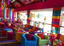 Decoracion de colores para fiestas divertidas y llamativas