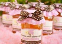 Hermosos frascos decorados para baby shower fáciles de hacer