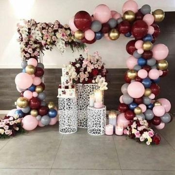 ideas de arreglos con globos para 15 años
