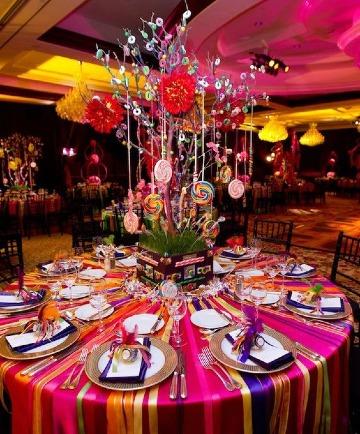 ideas de decoracion de colores para fiestas