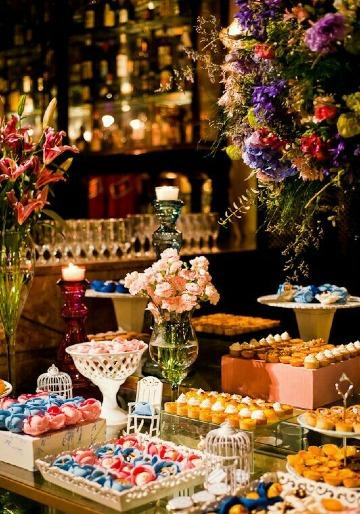 mesas de dulces para bodas elegantes originales