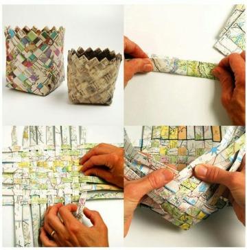 artesanias con material reciclado faciles