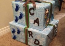 Ideas para decorar cajas para baby shower de ambos géneros