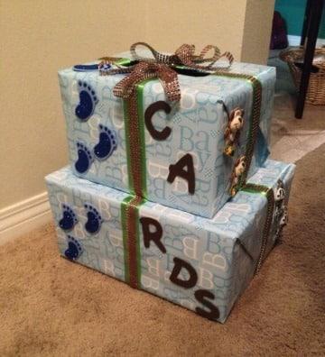 cajas para baby shower para cartas