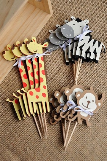 figuras de animalitos para baby shower
