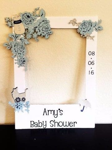 ideas de cuadros de baby shower
