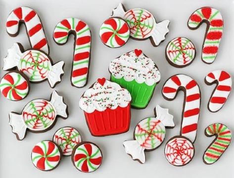 imagenes de galletas decoradas navideñas