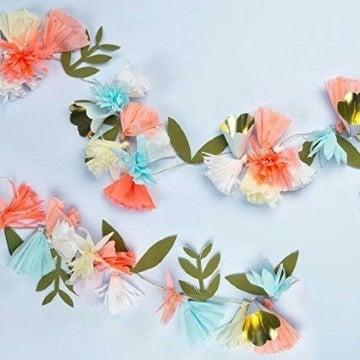 imagenes de guirnaldas de flores de papel