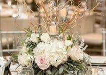 Originales y elegantes floreros para centro de mesa