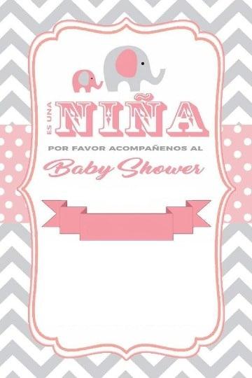 fondos para baby shower de niña