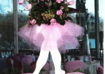 Original centro de mesa de bailarina para 15 años