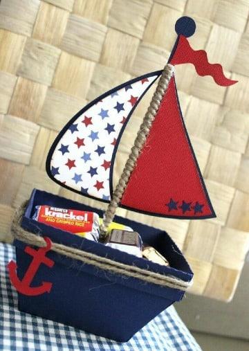 imagenes de centro de mesa de marinero