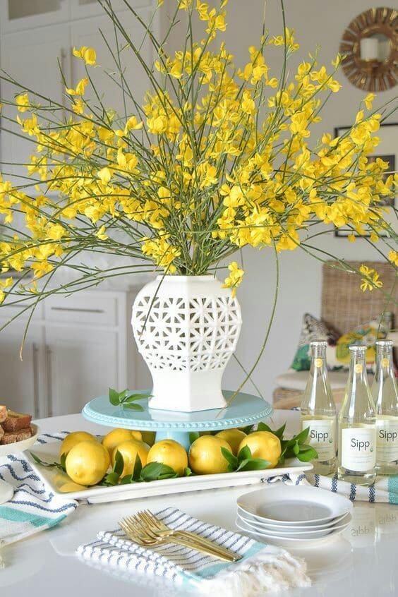 plantas para centros de mesa elegantes
