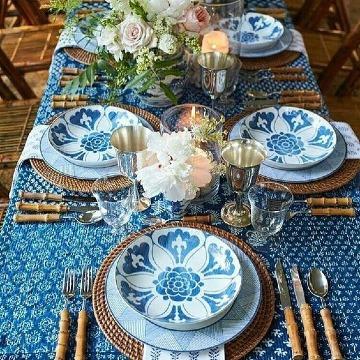 ideas de como poner una mesa elegante
