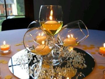 imagenes de centros de mesa para cena