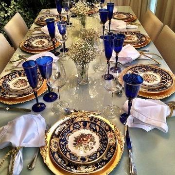 imagenes de como poner una mesa elegante