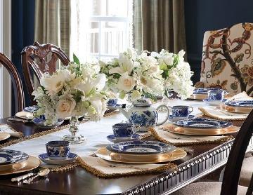 centros de mesa para comedor con flores