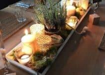 6 ideas para elegantes centros de mesa para comedor
