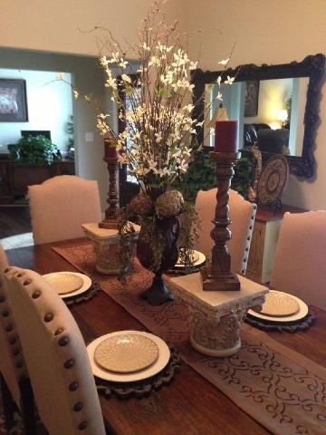 6 ideas para elegantes centros de mesa para comedor - Centros de mesa de comedor ...