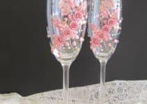 4 diseños originales de copas para quince años y bodas
