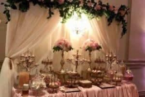 Ideas de manteles para mesa de fiesta elegante 2019