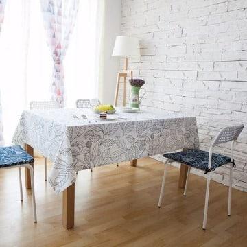 fotos de manteles para mesa rectangular