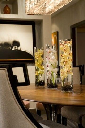 6 ideas para elegantes centros de mesa para comedor ...