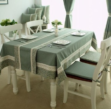 imagenes de manteles para mesa rectangular